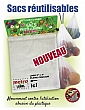Vegetables and Fruits Reusable Bags - 3 Packs