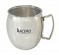 Spirit Mule 21oz matte finish stainless steel mug