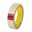 3M - 353-24X50-CLEAR - Scotch® 353 Box Sealing Tape - Hot Melt - 24 mm (47/50) x 50 m (164')