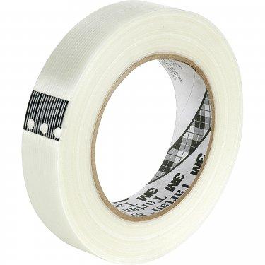 3M - 8934-48X55 - Tartan™ 8934 Filament Tape - 100 lb - 48 mm (1-22/25) x 55 m (180')