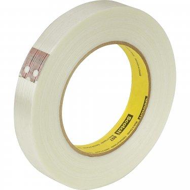 3M - 897-12X55 - Scotch® 897 Filament Tape - 12 mm (47/100) x 55 m (180')