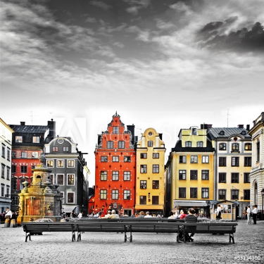 Stockholm, heart of old town,