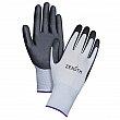 Zenith - SBA613 - Lightweight Palm Coated Gloves - Gray/Black - Medium - Price per pair