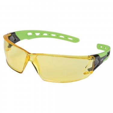 ZENITH - SDN703 - Z2500 Series Safety Glasses - Black/Green - Ambert - Unit Price