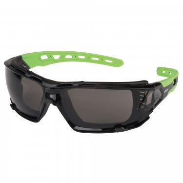ZENITH - SDN708 - Z2500 Series Safety Glasses - Black/Green - Smoke- Unit Price