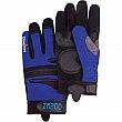 ZENITH - SEB054 - ZM200 Mechanic Gloves - Black/Blue - XX-Large - Price per pair