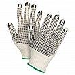 ZENITH - SEE944 - Dotted Gloves - White - Medium - Price per pair