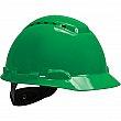 3M - H-704V-UV - Vented Hardhat with Uvicator Sensor - Green