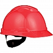 3M - H-705R-UV - Unvented Hardhat with Uvicator Sensor - Red