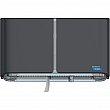 Cascades Pro Tandem™ - C380 - Double Roll Jumbo Toilet Paper Dispenser - 20.5 x 5.6 x 12 - Dark Grey - Unit Price