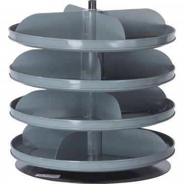 Durham Manufacturing - 1104-95 - Rotabin Storage Units 17 Diameter - 4 Levels - Unit Price