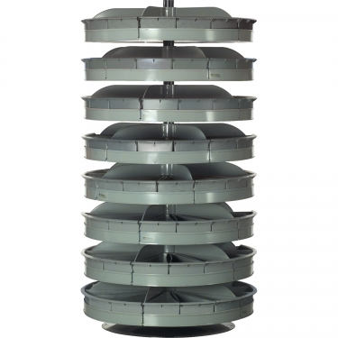 Durham Manufacturing - CA229 - Rotabin Storage Units 34 Diameter - 8 Levels - Unit Price