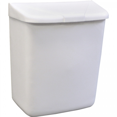 Hospeco - 250-201W - Feminine Hygiene Waste Receptacle Each