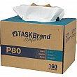 Hospeco - N-P080ITW - TaskBrand® P80 Premium Series Wipers Box of 160