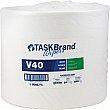 Hospeco - N-V040JPW - TaskBrand® V40 Value Series Wipers Each