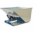 Kleton - MO132 - Knocked-Down Self-Dumping Hopper - 61-1/2 W x 55 D x 34 H - Galvanized Steel - Unit Price