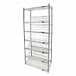 Kleton - RN592 - Slanted Shelf Carts - 36 x 18 x 74 - Unit Price