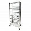 Kleton - RN599 - Slanted Shelf Carts - 48 x 18 x 80 - Unit Price
