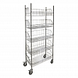 Kleton - RN609 - Wire Basket Shelving Carts - 5 Shelfs - 36 x 24 x 74 - Unit Price