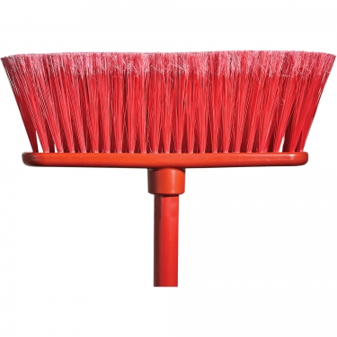 M2 Professional - BM-4600-RD - Flat Magnetic Indoor Broom with Handle - Red - Unit Price