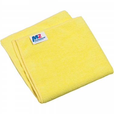M2 Professional - MC-603-YE - MicroCloth Cleaning Cloth - For use on tile and walls - Yellow - Unit Price