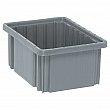 Quantum Storage System - DG91050-GREY - Divider Box® Containers - 10.9 x 8.3 x 5 - Gray - Unit Price