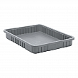 Quantum Storage System - DG93030-GREY - Divider Box® Containers - 22.5 x 17.5 x 3 - Gray - Unit Price