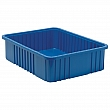 Quantum Storage System - DG93060-BLUE - Divider Box® Containers - 22.5 x 17.5 x 6 - Blue - Unit Price