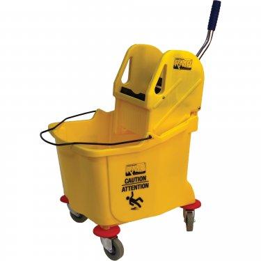 RMP - JG952 - Mop Bucket and Wringer - Down Press - 9.5 US Gal.(38 Quart) - Yellow - Unit Price