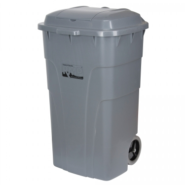 RMP -  - Roll Out Garbage Bin -  23-3/4 x 24 x 40 - 65 US gal. - Gray - Unit Price
