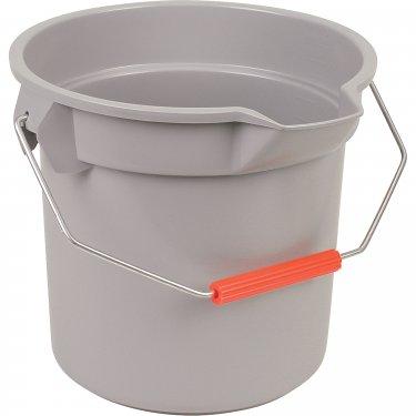 Rubbermaid - FG261400GRAY - Brute® Buckets - 3.5 US Gal. (14 qt.) - Grey - Unit Price