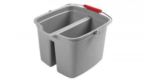 Rubbermaid - FG261700GRAY - Brute® Buckets - 4.25 US Gal. (17 qt.) - Grey - Unit Price