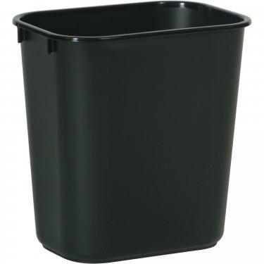 Rubbermaid - FG295500BLA - Soft Wastebasket - 8-1/4 x 11.375 x 12.125 - Black - Unit Price