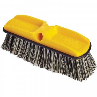 Rubbermaid - FG9B3700GRAY - Plastic Block Scrub Brush - Synthetic - 10 - Black/White - Unit Price