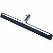 Rubbermaid - FG9C2600BLA - Metal Floor Squeegee - Straight - Blade Length 18 - Black - Unit Price