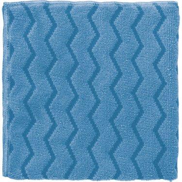 Rubbermaid - FGQ63000BL00 - Microfibre Hygen™ Cloths  - Microfibre - 16 x 16 - Blue - Unit Price