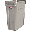 Techstar Plastics Inc - 1971259 - Recycling Containers Bullseye™ - 22 L x 11 W x 25 H - 16 US gal. - Beige - Unit Price