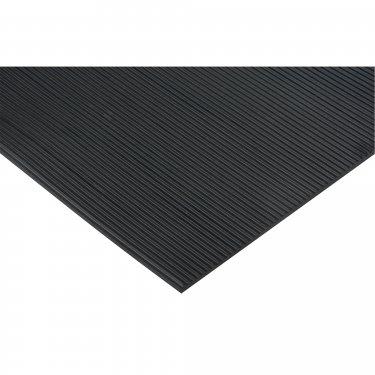 ZENITH - SDL880 - Fine Ribbed Mats - 4' Width - 1/8 - Black - Price per linear feet