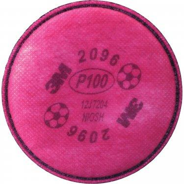 3M - 2096 - 2000 Series Respirator Prefilters - Particulate Filter - Acid Gas - NIOSH - Price per pair