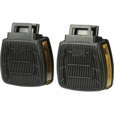 3M - D8006 - Secure Click™ Respirator Cartridge  - Gas/Vapour Cartridge - Multi-Gas/Vapour - NIOSH - Price per pair