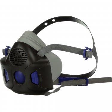 3M - HF-801SD - Secure Click™ HF-800 Series Half Facepiece Reusable Respirator  - Small - Unit Price