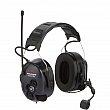 3M - MT7H7P3E4612-CA - Lite-Com Plus 2-Way Radio Headset - Headband/Cap Mount - NRR dB 24 - Black - Unit Price