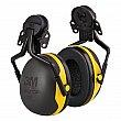 3M - X2P5E - Peltor™ Electrically Insulated Earmuffs - Cap Mount - CSA Class: None - NRR dB 24 - Black/Yellow - Unit Price