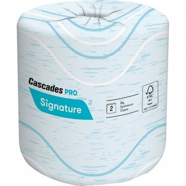 Cascades - B625 - Pro Signature™ Toilet Paper - 133' - White - Price per Case of 12 Rolls