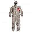 Dupont Personal Protection - TF145TGYXL000600 - Tychem® 6000 Coveralls - Tychem® - Grey - X-Large - Unit Price