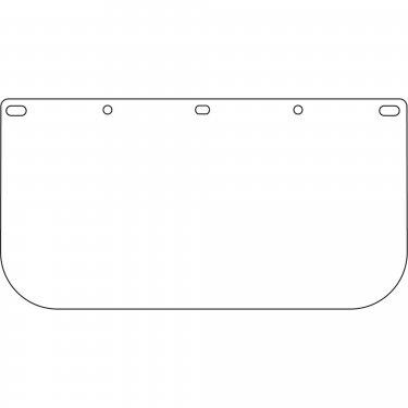 DYNAMIC SAFETY - EP815/40 - High Performance Faceshield Visor Window