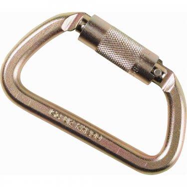 Honeywell - FP86 - North® Autolocking Carabiner - Capacity: 5000 lbs - Steel - Gate Opening: 3/4 - Unit Price