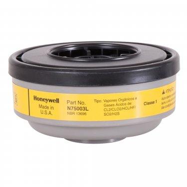 Honeywell - N75003L - North® N Series Respirator Cartridges - Gas/Vapour Cartridge - Organic Vapour/Acid Gas - NIOSH - Price per pair