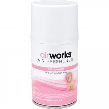 Hospeco - 07909 - AirWorks® Metered Air Fresheners Fresh Baby Powder Case of 12