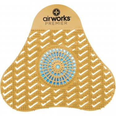 Hospeco - AWSP231 - AirWorks® Premier Urinal Screens with Block Light Orange & Blue Citrus Grove Box of 12